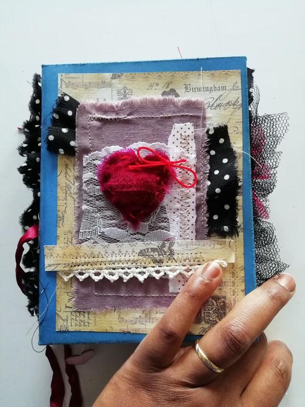 junk journal saint valentin